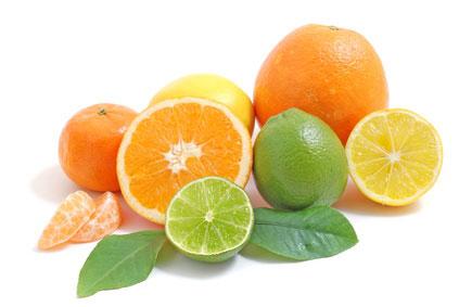 Vitamin C - Zitrusfrüchte