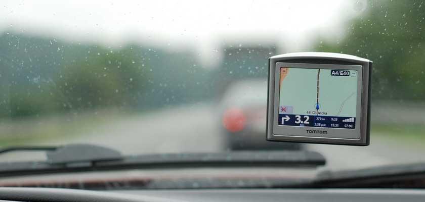 Auto Navigationsgerät mit GPS